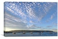 September in Swanage., Canvas Print