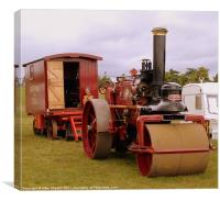 Marshall Road Roller, Canvas Print