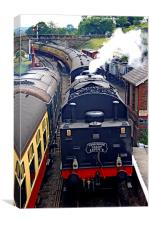 The Yorkshire Express, Canvas Print