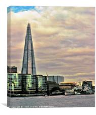 The Shard , Canvas Print
