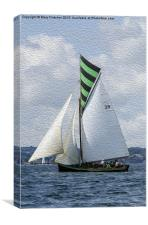 Irene - Falmouth - Working Boat, Canvas Print