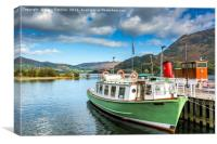 Lady Dorothy, Ullswater, Canvas Print