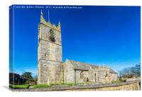 St Just Church Penwith, Canvas Print