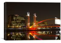 The Lowry Bridge, Canvas Print