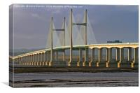 severn crossing, Canvas Print