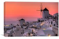 Santorini, Greece, Canvas Print