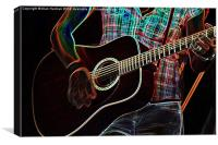 Guitar 1, Canvas Print