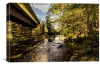 The Bridges Of Glaisdale, Canvas Print