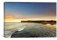 Huntcliff Saltburn-by-the-sea, Canvas Print