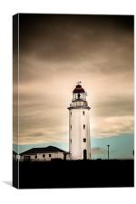 Lighthouse at Dangerpoint, Canvas Print