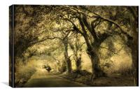 Gothic Road, Canvas Print