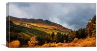 I Cant Forget this Light. Scotland, Canvas Print