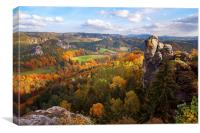 You Give Me the Wings. Saxon Switzerland , Canvas Print