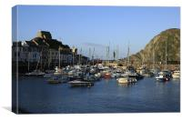 Ilfracombe Harbour, Devon, Canvas Print