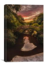 Beggars Bridge, Canvas Print