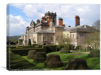 Biddulph Grange and formal gardens, Canvas Print