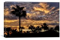 Fuerteventura Sunset, Canvas Print