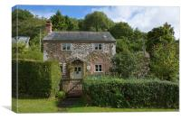 Bumble Hole Cottage, Canvas Print