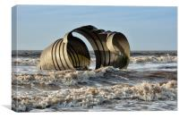 Mary's Shell Cleveleys, Canvas Print