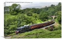 North Yorkshire Moors Railway, Canvas Print