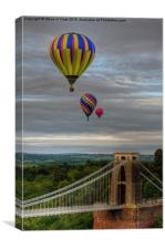 01 Bristol Balloon Fiesta, Canvas Print