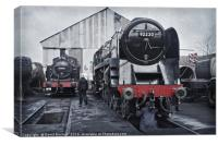 The Steam Depot, Canvas Print