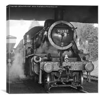 Ready To Depart at Loughborough, Canvas Print