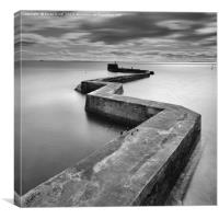 Breakwater, Canvas Print
