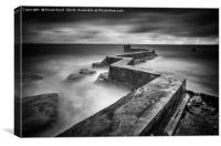 St Monans Breakwater, Canvas Print