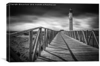 Morro Jable Lighthouse, Canvas Print