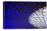 KX Ceiling, Canvas Print