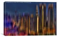 Blurrrrrrrrrrrrr, Canvas Print