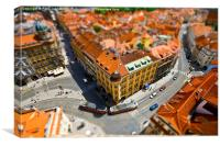 Tilt shift, Canvas Print