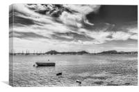 Bay of Pollensa, Canvas Print