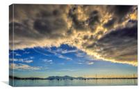 The Bay of Pollensa, Canvas Print