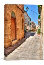 Alcudia old town, Canvas Print