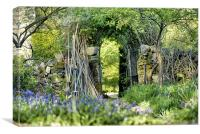 Archway to paradise, Canvas Print