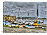 Boats Just Hanging Around, Canvas Print