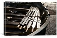 Wooden Boat In The Sun, Canvas Print