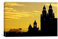 The Towers of Kelvingrove, Canvas Print