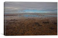 Reeves Beach, Whitstable, Canvas Print