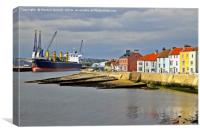 HARTLEPOOL HARBOUR, Canvas Print