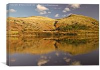 Helvellyn Reflections in Thirlmere, Canvas Print