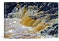 Low Force Waterfall, Canvas Print