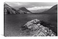 Moody Wast Water, Canvas Print