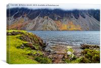 Wast Water Screes, Wasdale, Lake District, Canvas Print