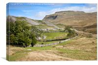 Ingleborough in the Yorkshire Dales, Canvas Print