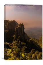 Pinnacle Rock - South Africa, Canvas Print