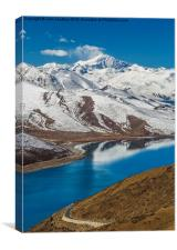 Yamdrok Lake, Canvas Print