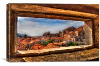 Dubrovnik old town, Canvas Print